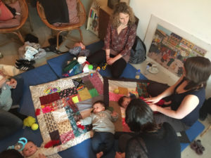 les ateliers Baby Up au SUPER Café